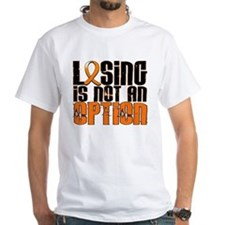 Losing Is Not An Option Leukemia Shirt
