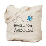 Accountant (World's Best) Gift Tote Bag