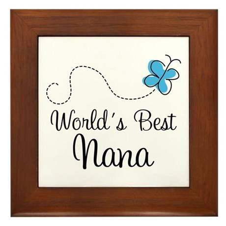 Nana (World's Best) Framed Tile
