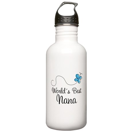 Nana (World's Best) Stainless Water Bottle 1.0L