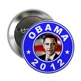 "Obama 2012 Election Commemorative 2.25"" Button (10"