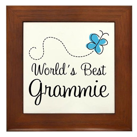 Grammie (World's Best) Framed Tile
