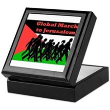 Global March to Jerusalem Keepsake Box