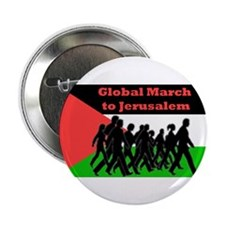 "Global March to Jerusalem 2.25"" Button (10 pack)"