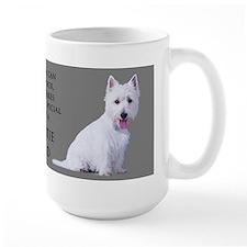 Westie Dad Ceramic Mugs