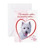 Westie Valentine's Card