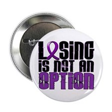 "Losing Is Not An Option Anorexia 2.25"" Button (10"