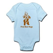 Free Bear Hugs Infant Bodysuit