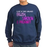 Fluent In Three Languages Jumper Sweater