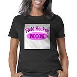 Knit Question Organic Women's Fitted T-Shirt (dark
