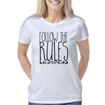 Knit Question Organic Women's Fitted T-Shirt