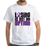 Losing Is Not An Option Crohn's Disease Shirt