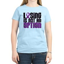 Losing Is Not An Option Crohn's Disease T-Shirt