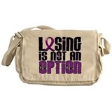 Losing Is Not An Option Lupus Messenger Bag