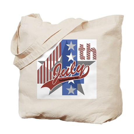 4th of July Tote Bag (Design on both sides)
