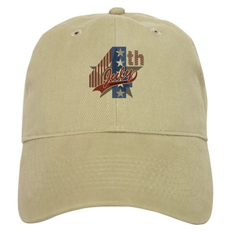 4th of July Cap (White or Khaki)