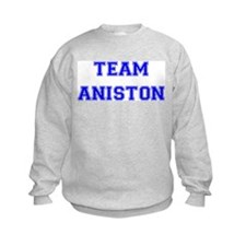 Team Aniston Blue Sweatshirt