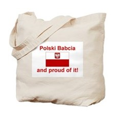 Polish Babcia(Grandmother) Tote Bag