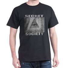 Secret Society Black T-Shirt