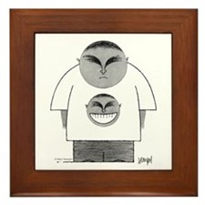 Happy Tee Framed Tile