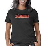 LoveBug Organic Women's Fitted T-Shirt (dark)