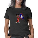 LoveBug Women's Plus Size Scoop Neck Dark T-Shirt