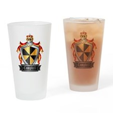 CAMPBELL COAT OF ARMS Drinking Glass