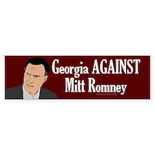 Georgia Against Mitt Romney bumper sticker