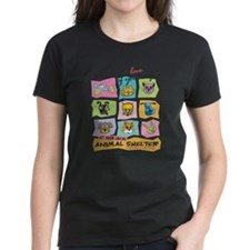 Funny Animal shelter Tee