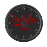 Studebaker Trucks Large Wall Clock