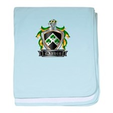 DAVIS COAT OF ARMS baby blanket