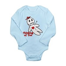 Anti Valentine Voodoo Doll Long Sleeve Infant Body