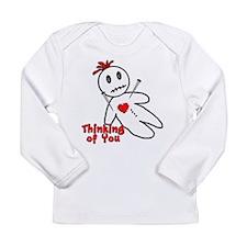 Anti Valentine Voodoo Doll Long Sleeve Infant T-Sh