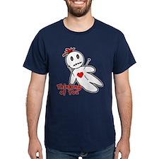 Anti Valentine Voodoo Doll T-Shirt