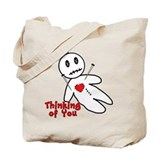 Anti Valentine Voodoo Doll Tote Bag