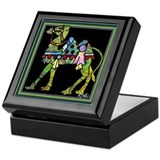 Circus March Camel Keepsake Box