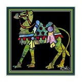 Circus March Camel Tile Coaster