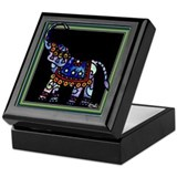 Circus March Elephant#2 Keepsake Box