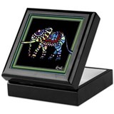 Circus March Elephant Keepsake Box