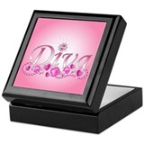 Diva Bling Keepsake Box