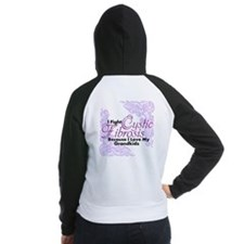 Because I Love Women's Raglan Hoodie