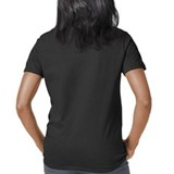 Women's V-Neck Dark Logo T-Shirt
