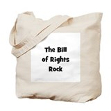 The Bill Of Rights Rock Tote Bag