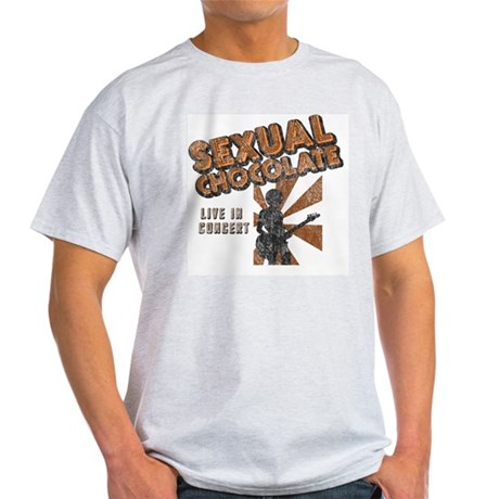 Sexual Chocolate (Retro Wash) Ash Grey T-Shirt