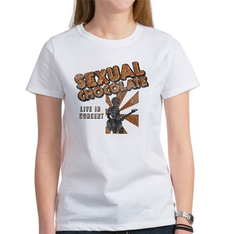 Sexual Chocolate (Retro Wash) Women's T-Shirt