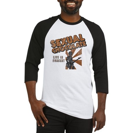 Sexual Chocolate (Retro Wash) Baseball Jersey