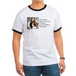 The Real Jesus Forgives Your Ringer T