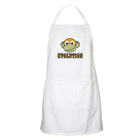Evolution the Monkey BBQ Apron