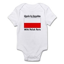 Polish Parts Infant Creeper