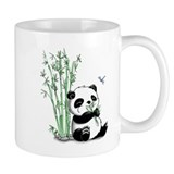 Panda Eating Bamboo Small Mug